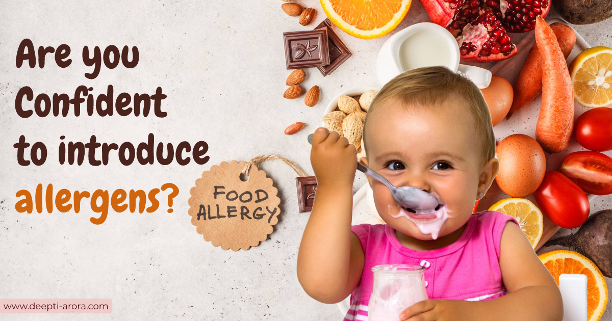 Are you doubtful to introduce allergens to your baby? Learn the proven ways to start at an early age.