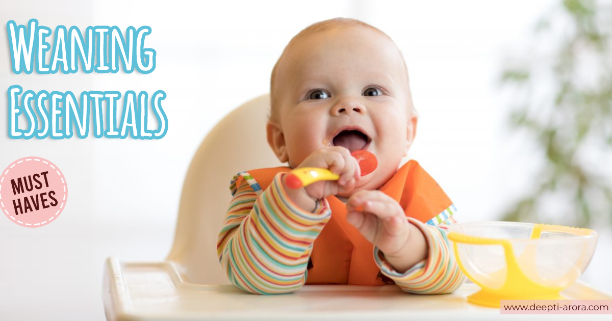 12 Mealtime Essentials & Useful Baby Cutlery to begin with weaning from 0- 2yrs